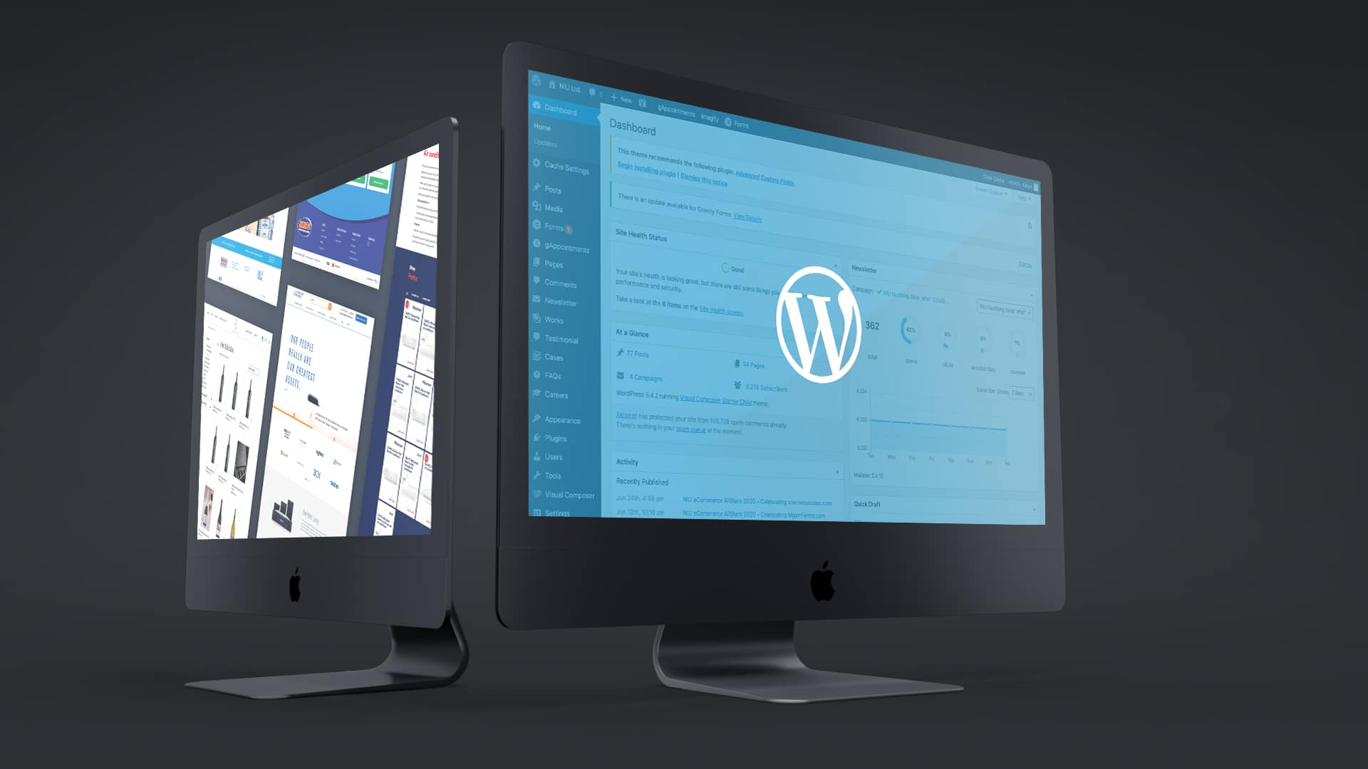 With a quality WordPress website and a good digital marketing strategy there's nothing your business can't achieve