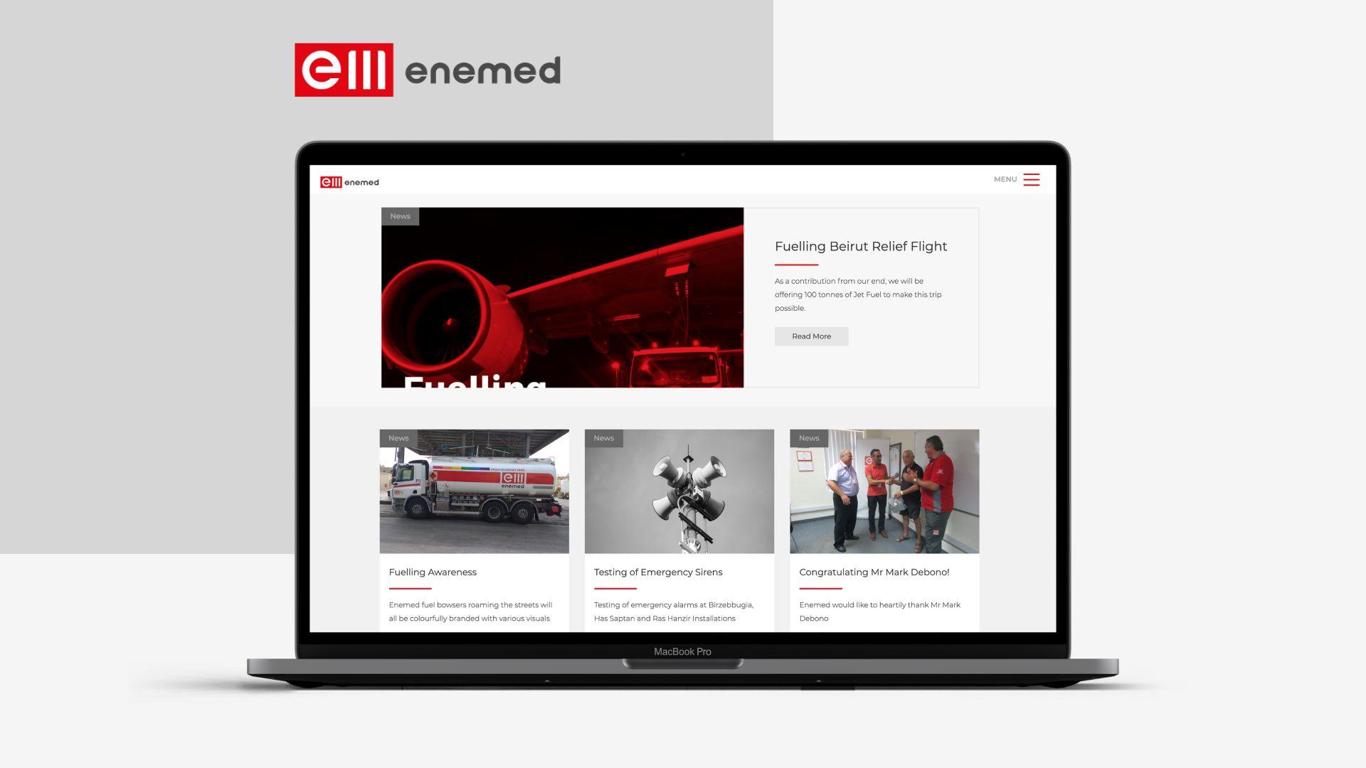 oil & gas website development
