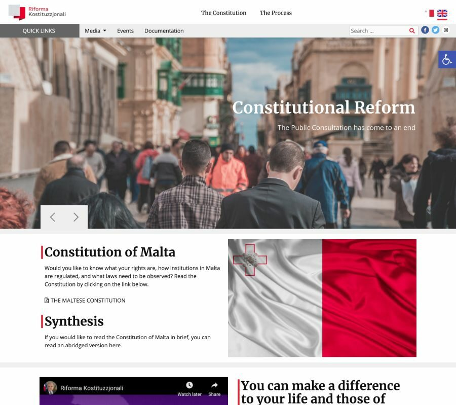 egovernment website